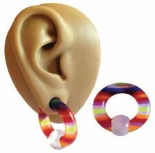 Acrylic Lobe 2g (6 mm) Tunnel/Plug Body Piercing Jewellery
