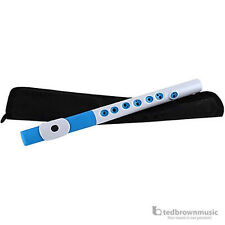 Nuvo TooT Pre-Flute Instrument for Beginner Musicians  - White/Blue