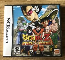 Dragon Ball Z : Attack Of The Saiyans - Ds (Nintendo Ds) Complete W/box & Manual