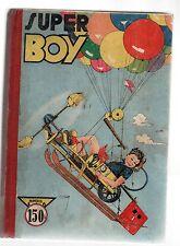 SUPER BOY Album éditeur n°1 -n°1 à 6. Impéria 1949-1950. TBE