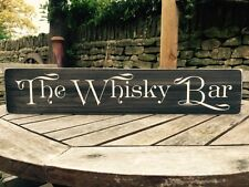 Whisky Bar Sign Plaque Pub BBQ Party Gift Vintage Hotel Drink Grouse Birthday