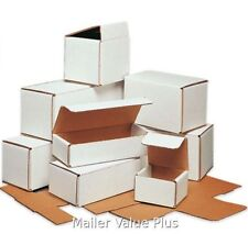 300 - 5 x 2 x 2 White Corrugated Shipping Mailer Packing Box Boxes