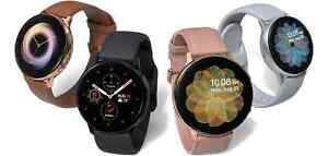 SM-R830 40mm Samsung Galaxy Watch Active2 Pink Go Aqua Blac Smartwatch Aluminium