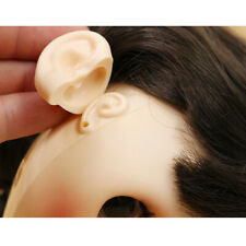 2 Pieces Doll Resin Ears Doll Body Extra Part Doll Makeup Accessory