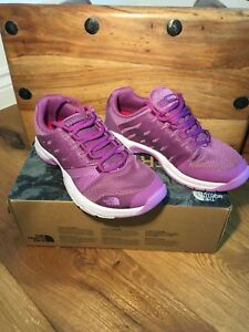 Womens North Face Litewave Ampere II Purlpe Violet 4.5 Hiking Trainers Boots NEW