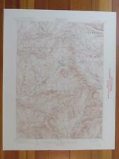 Hobart New York 1944 Original Vintage USGS Topo Map