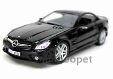 MAISTO 36193 MERCEDES BENZ SL65 SL 65 AMG COUPE 1/18 BLACK