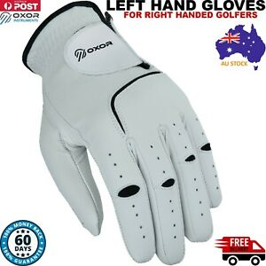 Full Cabretta Leather Golf Gloves Mens Great Quality StableGrip New Left Hand AU