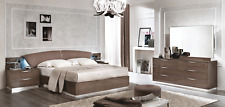 Esf Platinum Drop Queen Bedroom Set made in Italy by Camelgroup total 5 pieces