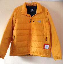 The North Face TNF Zinna Orange Puffer Mens Brecon Medium Jacket Coat NWT $150