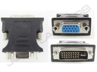 Neu Original Dell Wyse Dvi-I Stecker Zu VGA Buchse Adapter Konverter