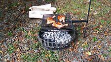 Campfire Grill w/ cast iron grate (portable)