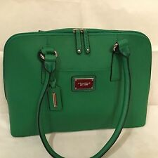 Tignanello Clean & Classic Saffiano Leather Satchel - Green