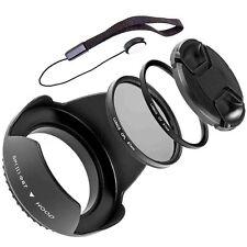 67mm contro luce Mascherina polarizzatore filtro UV set si adatta a Nikon 18-105 d3300 d5300