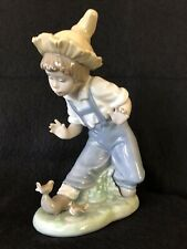 Vintage Lladro Nao Figurine - Little Visitors # 02001096 - Made in Spain