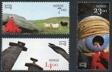 2008 NORWAY Stavanger Art stamps  NK 1694-96  MNH