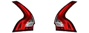 VOLVO XC60 2012-2017 REAR TAILLIGHTS TAIL LIGHTS LAMP NEW W/BULBS PAIR
