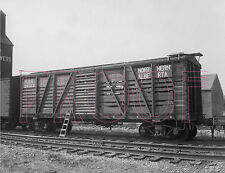 Northern Alberta Railways (NAR) Stock Car 20003 - 8x10 Photo