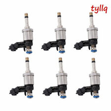 6 pc OEM GM Fuel Injector for Chevrolet Camaro Traverse GMC Acadia 3.6 12638530