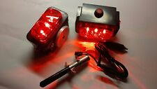 "Pair of Towaide TA55 Wireless Tow Lights 5.5"" magnetic tow truck wrecker S/T/T"