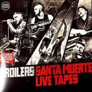 DOPPEL CD - BROILERS - SANTA MUERTE LIVE TAPES