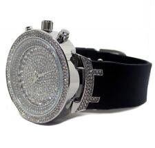 Bling Bling diamante de imitación Completamente Iced cara HipHop Bling Reloj