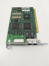 Dual NIC Netzwerkkarte PCI Ethernet 100 Mbit PCI