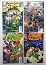 IRON FIST WOLVERINE 1 2 3 4 Return Of Kun Lun Complete Marvel 2000 VF/NM