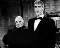 The Addams Family Jackie Coogan Ted Cassidy Lurch & Fester  8x10 Glossy Photo