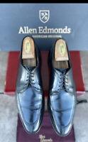 Allen Edmonds mens dress shoes black 10.5 D Executive Oxford LaSalle Split Toe