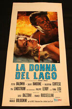 Locandina - La donna del lago di Luigi Bazzoni, con Virna Lisi