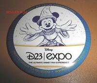 MICKEY MOUSE SORCEROR magician DISNEY D23 EXPO Pin Badge Fantasia RARE toy