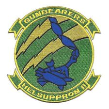 HC 11 Helicopter Combat Support Squadron HELSUPPRON II Military Patch GUNBEARERS