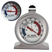 Kühschrankthermometer Edelstahl Analog Kühlschrank Gefrierschrank Thermometer