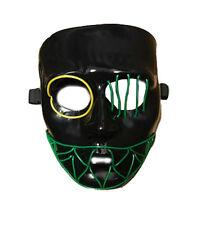 Luz Multicolor Led Neon Máscara Halloween Elaborado Vestido la purga