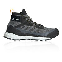 adidas Mens Terrex Free Hiker Parley Walking Shoes Black Grey Sports Outdoors