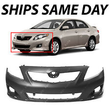 NEW Primered - Front Bumper Cover for 2009 2010 Toyota Corolla Sedan S / XRS