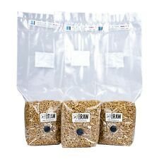 More details for 750g - 1.5kg rye grain (hydrated & sterilised) - mushroom cultivation & growing