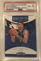 2018 Luka Doncic Panini Contenders ROY RC Rookie #4 PSA 8 🔥