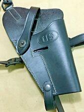 WW2 reproducci/ón Ej/ército M1916 Colt PISTOL pistolera - cuero negro m1911//m1911a1