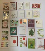Meri Meri Calypso Mixed Lot of 25 Christmas Cards Boutique Individually Wrapped