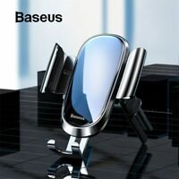 Baseus Car Phone Holder Round Air Vent Mount Gravity Clip Cell Stand For PHONE
