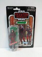"Star Wars ** NABOO ROYAL GUARD VC83 ** 3.75"" Vintage Collection MOC Hasbro 2012"
