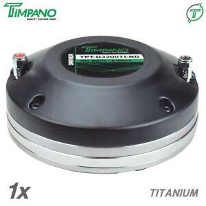 "1x Timpano TPT-D3200Ti-ND 2"" Horn Compression Driver Neodymium 3"" VC 200 Watts"