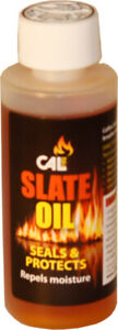 CALFIRE SLATE OIL 100ML SEALS AND PROTECTS SLATE