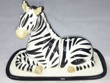 Zebra Salt & Pepper Shakers Collectable Novelty  - NEW - Freepost