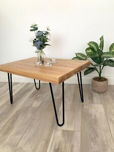 Coffee Table | Side Table | Hairpin Legs | Handmade Living Room Furniture | Home