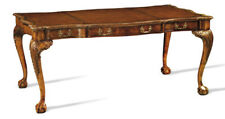 Burl Walnut Writing Desk by Scarborough House