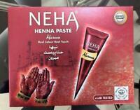 Neha Henna Cone - Temporary Tattoo Paste Cone Body Art Painting - Mahroon Color