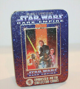 Star Wars Dark Empire Metallic Impressions Collector Cards Set Of Six Brand New